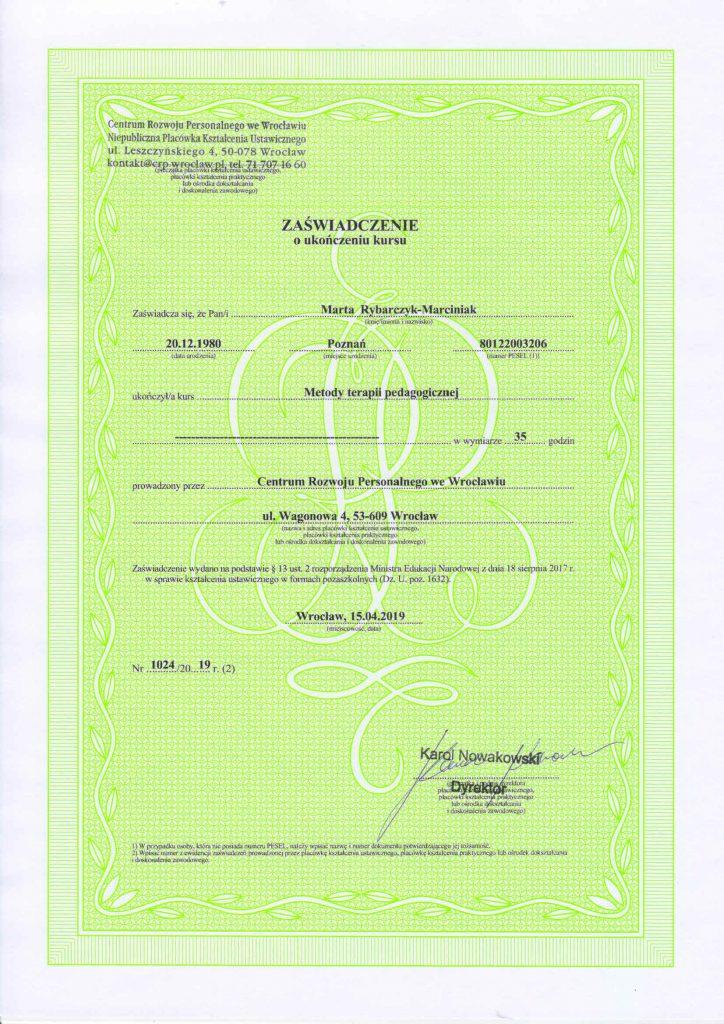certyfikat-metody-terapii-pedagogicznej
